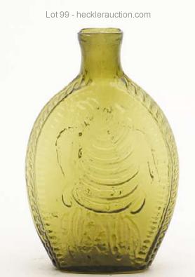 GII-69 Eagle Cornucopia in yellow olive - Lot 99
