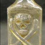 Rare patent poison bottle