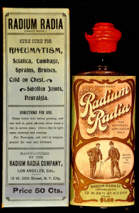 the colorful and valuable Radium Radia bottle