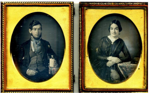 Full view of Ware daguerreotypes
