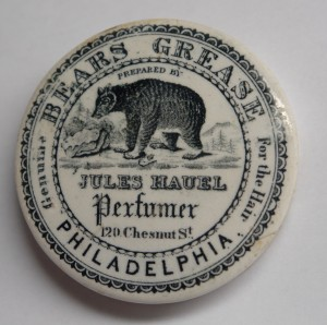 Jules Hauel Bear's Grease pot lid