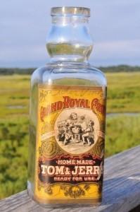 labeled antique bottle